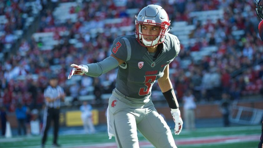 Darrien Molton, out of Chaparral High School, has proven to be a reliable cornerback for Washington State.
