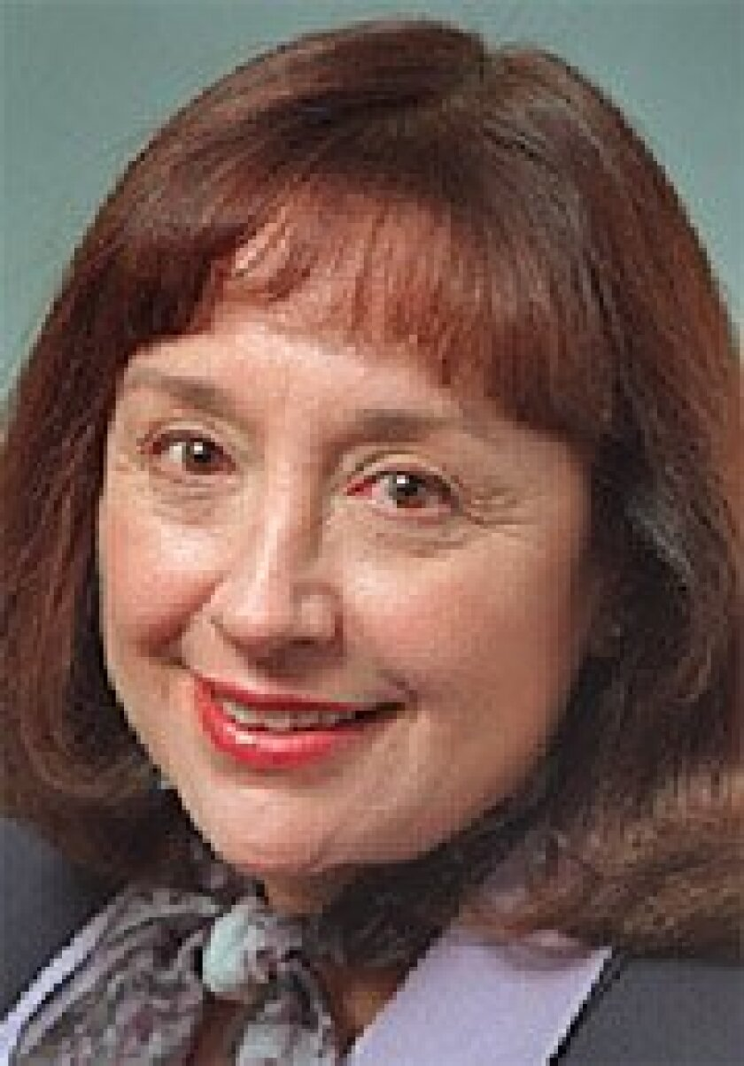 The  appointment  of Charlene  Zettel to the  UC Board of  Regents must  be confirmed  by the state  Senate.  (2000  file photo /  Union-Tribune)