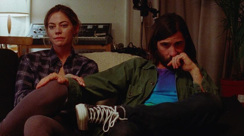 """Analeigh Tipton and Jason Schwartzman in """"Golden Exits"""""""