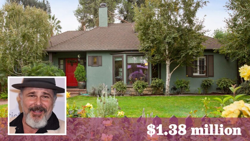 """Actor Jeremy Ratchford of """"Cold Case"""" has sold his home in Valley Village for $1.38 million."""