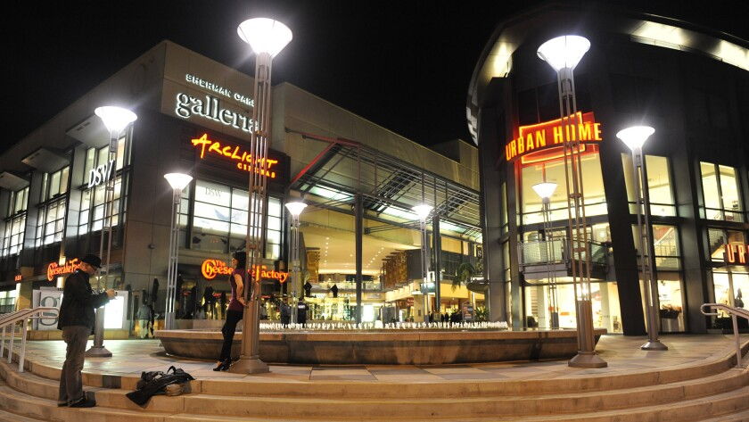 The Sherman Oaks Galleria.
