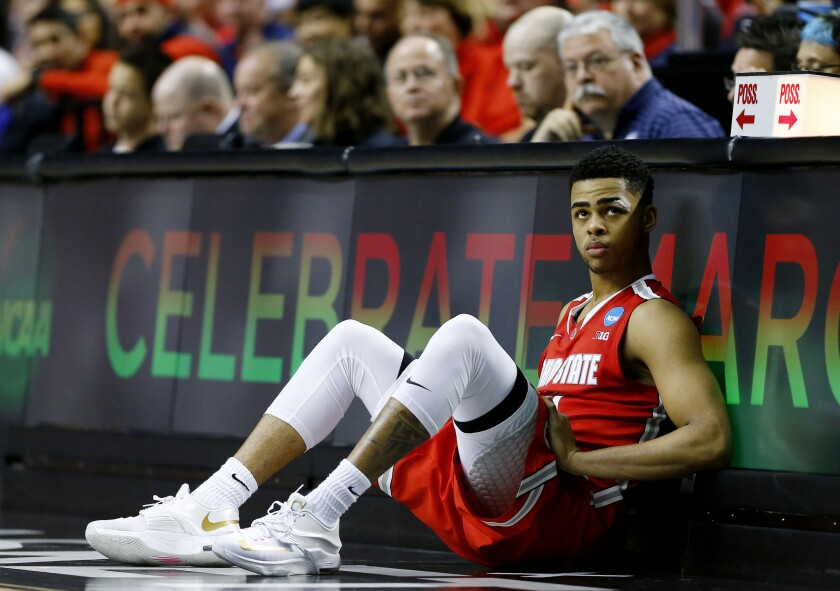 D'Angelo Russell recently finished his freshman season at Ohio State, where he averaged 19.3 points and five assists and drew comparisons to a taller Chris Paul.