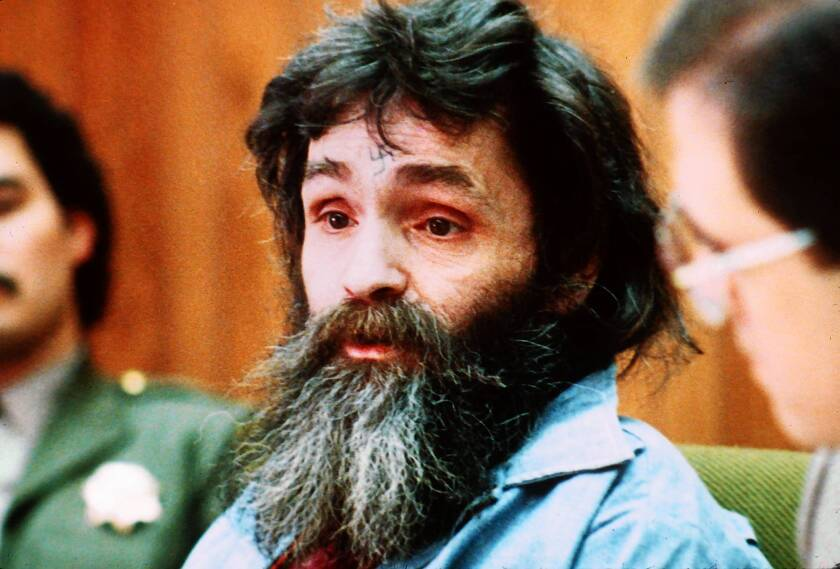 "Among the ""murderabilia"" items offered for sale was trimmings from Charles Manson's hair shaped into a swastika."