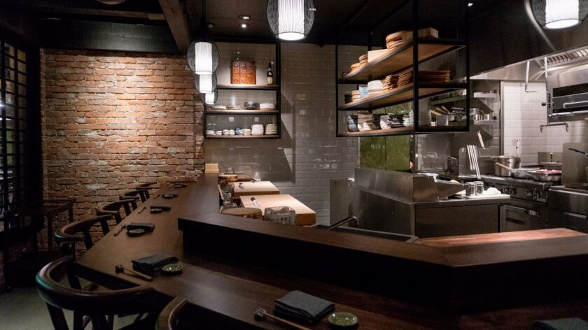 Himitsu, a Japanese seafood restaurant overseen by former Sushi Ota chef Mitsu Aihara, opened this w
