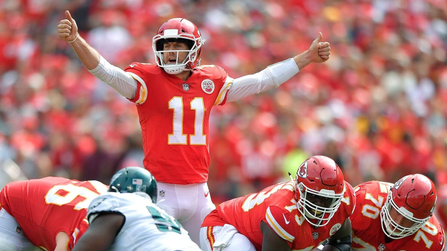 Alex Smith Has Reinvented His Play And His Legacy With The Chiefs Los Angeles Times