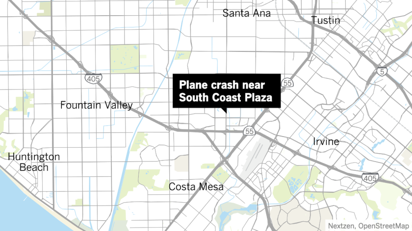 It was so heartbreaking': Small plane crashes in Santa Ana