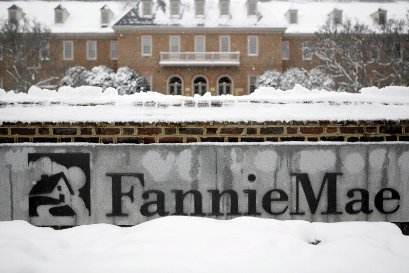 U.S. Senate Bill Seeks To Wind Down Fannie Mae In Five Years