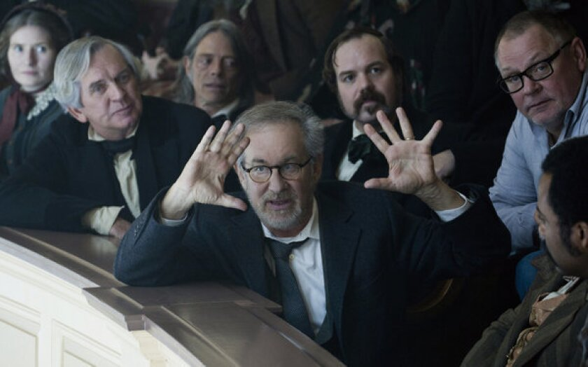 """Steven Spielberg earned his 11th nomination for the DGA's feature film award for his epic """"Lincoln."""""""