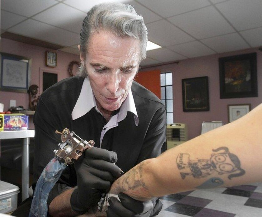 Famed Tattoo Artist Mark Mahoney Is Going Strong On The