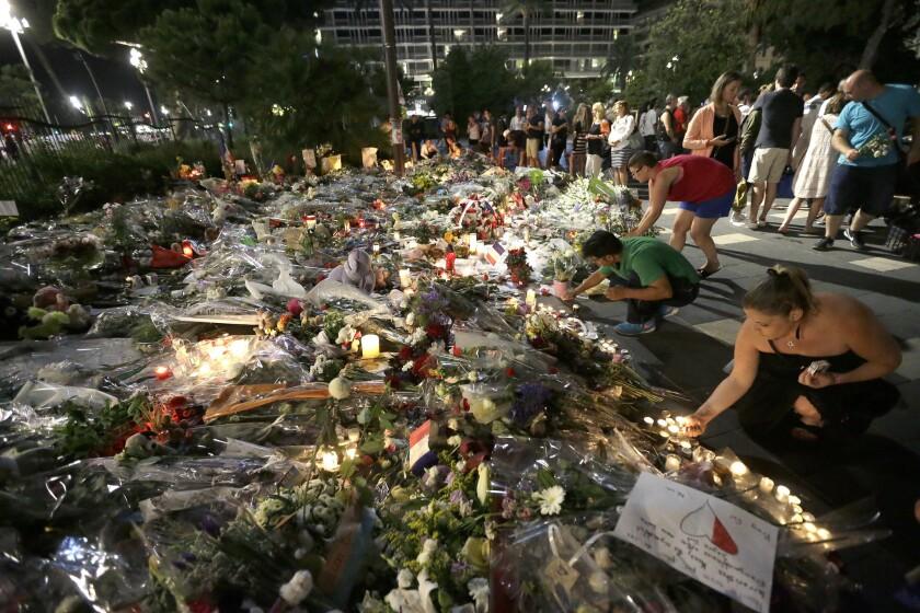 Memorial in Nice, France