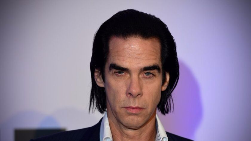Australian rock legend Nick Cave is shown in 2014 at a film festival in London.