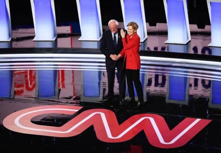 Bernie Sanders and Elizabeth Warren