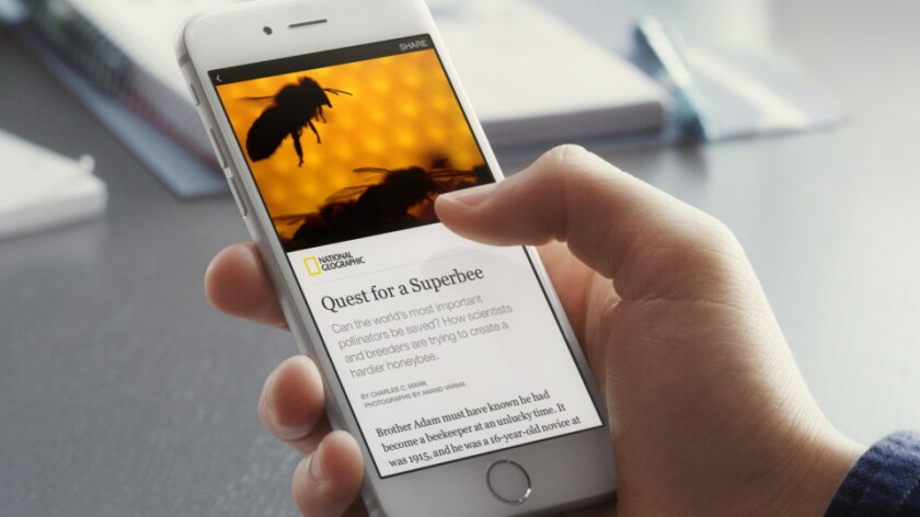 Facebook debuts Instant Articles, a tool that enables news outlets to publish their stories directly to the social network.