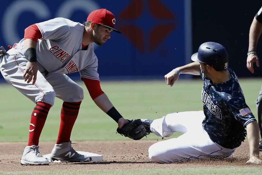 Reds Padres Baseball