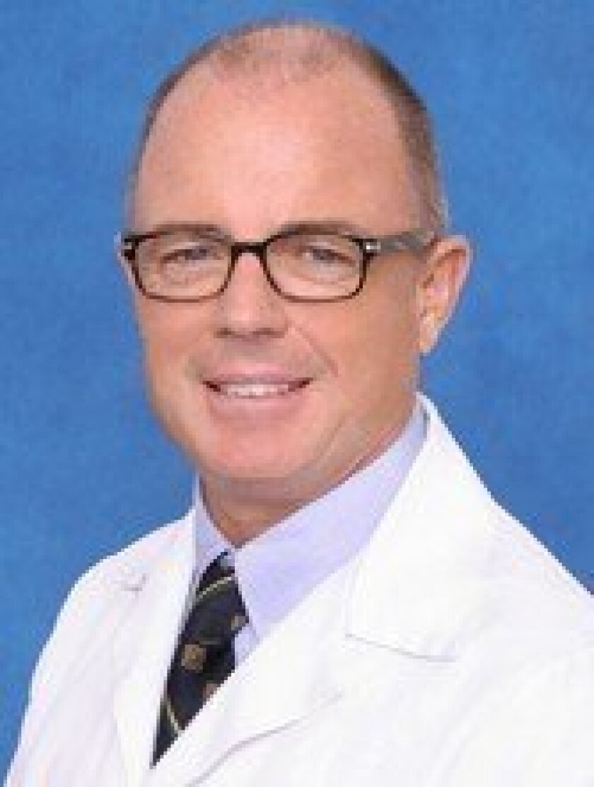 Christopher Marsh, M.D., of Scripps Green Hospital in La Jolla. Courtesy
