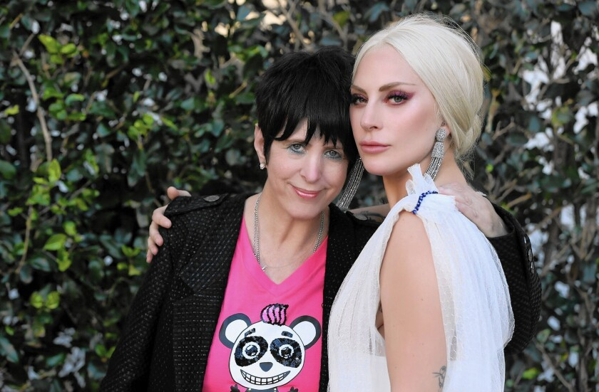"""Diane Warren and Lady Gaga co-wrote the song """"Til It Happens To You"""" from the documentary """"The Hunting Ground,"""" and Gaga performed it."""