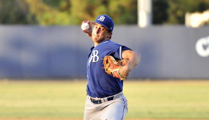 Sophomore Joey Magrisi had a 1.11 ERA last season.