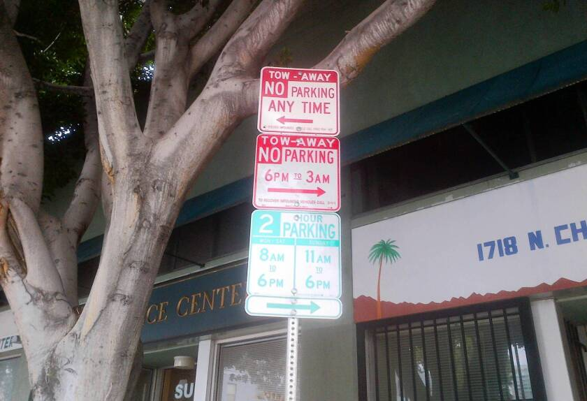 L.A.'s signs of madness