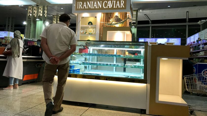 At $80 an ounce, it's not for everyone  But Iranian caviar