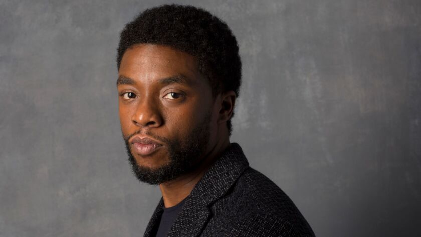 Chadwick Boseman Explains How He Came Up With Black Panther S Accent From The Fictional Land Of Wakanda Los Angeles Times