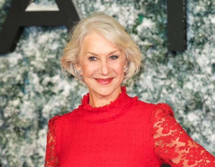 Fotografía de la actriz británica Helen Mirren. EFE/Archivo