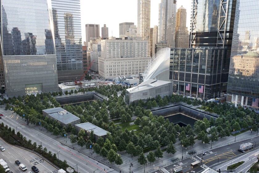 The National September 11 Memorial and Museum.