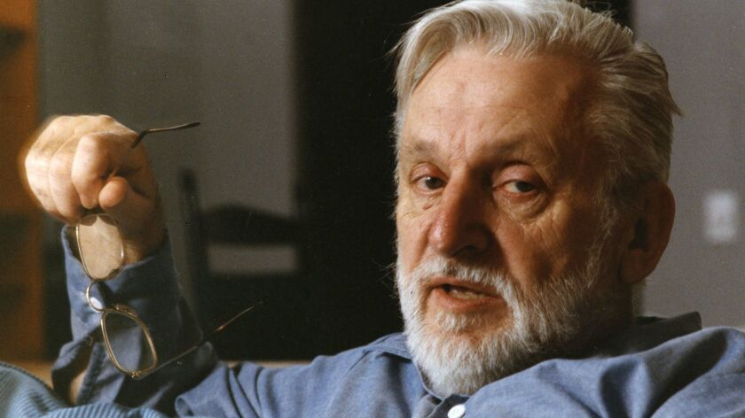 Robert Pirsig in 1991 at the Charles Hotel in Cambridge, Mass.