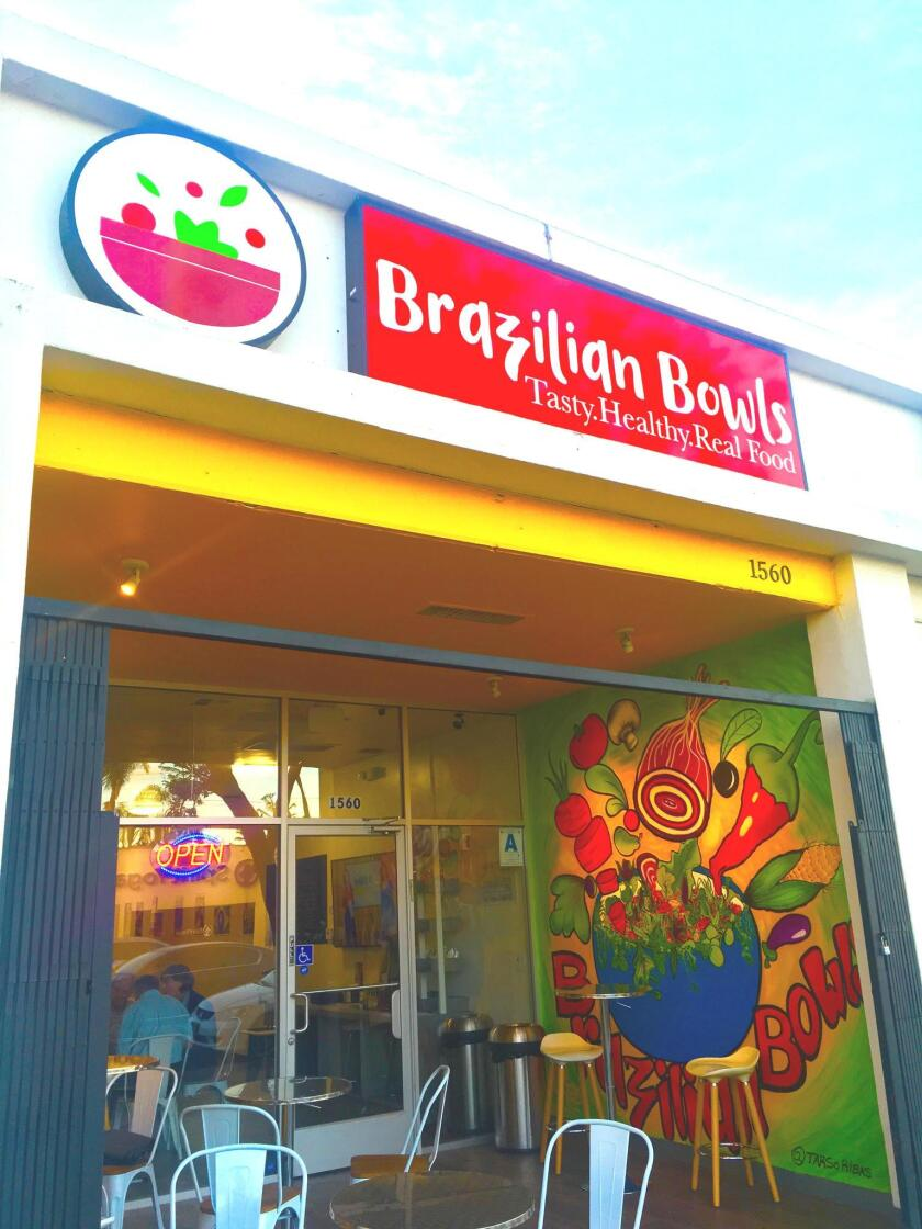 Brazilian Bowls is at 1560 Garnet Ave. in Pacific Beach/San Diego.