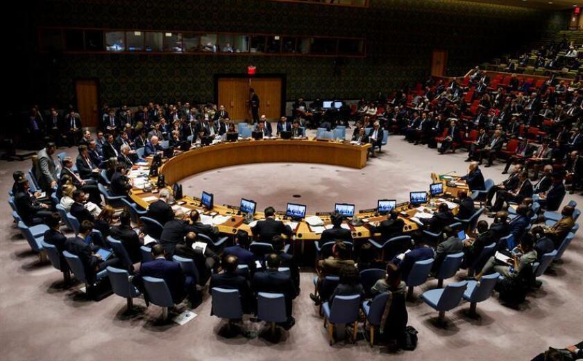 Los países de la Unión Europea (UE) que forman parte del Consejo de Seguridad de la ONU pidieron hoy la liberación de los marineros y de los buques ucranianos capturados por Rusia en el mar Negro. EFE/Archivo