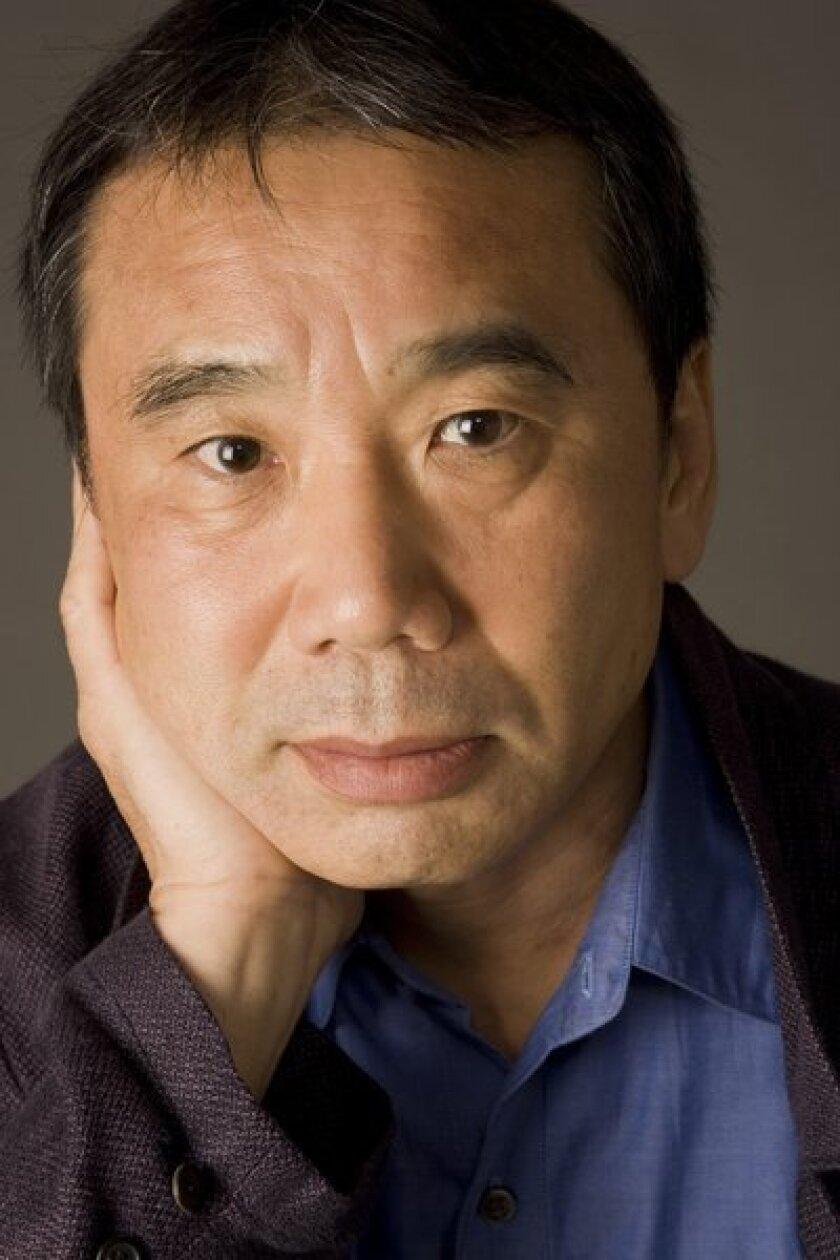 Haruki Murakami is  nominated.