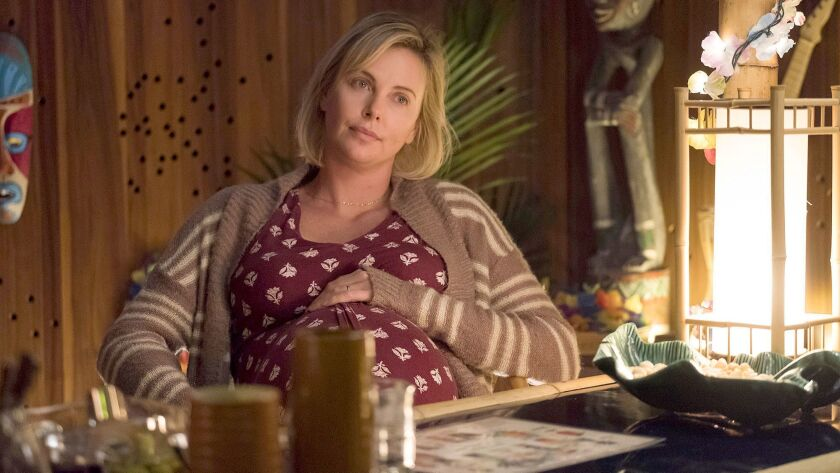 "Charlize Theron stars as Marlo in ""Tully."""
