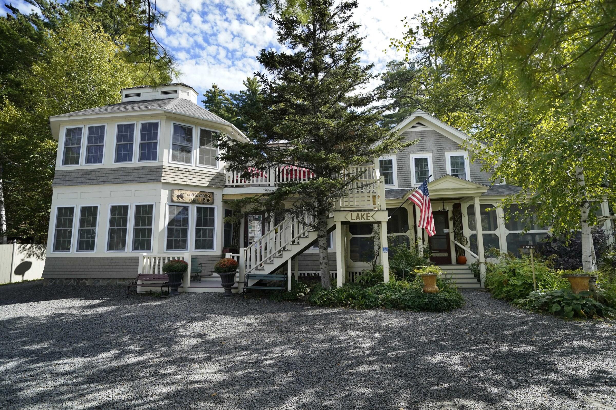 The Big Moose Inn in Millinocket, Maine