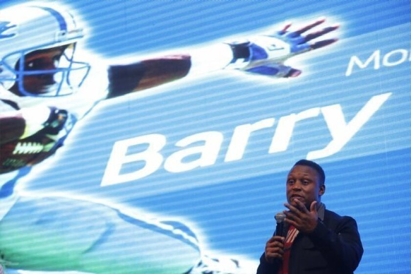 Barry Sanders talks about why he retired in prime of his career