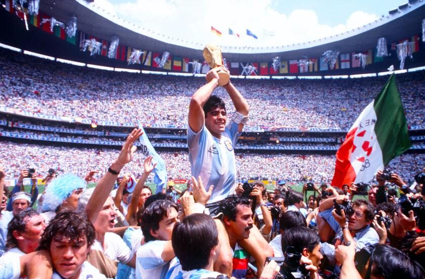 En su mejor momento deportivo, Diego