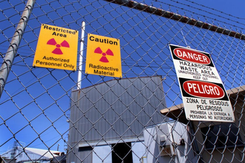 Environmental activists and consumer groups are suing a state agency over the waste procedures of a former nuclear research facility. An agency official called the allegations ¿irresponsible¿ and ¿reprehensible.¿