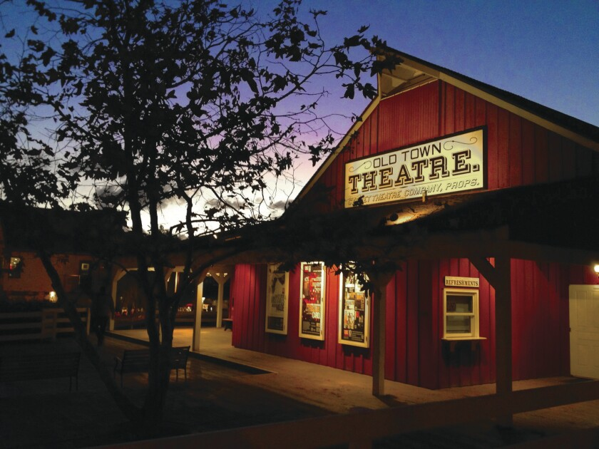 Cygnet Theatre in Old Town is one of hundreds of local arts organizations, big and small, affected by the coronavirus pandemic.