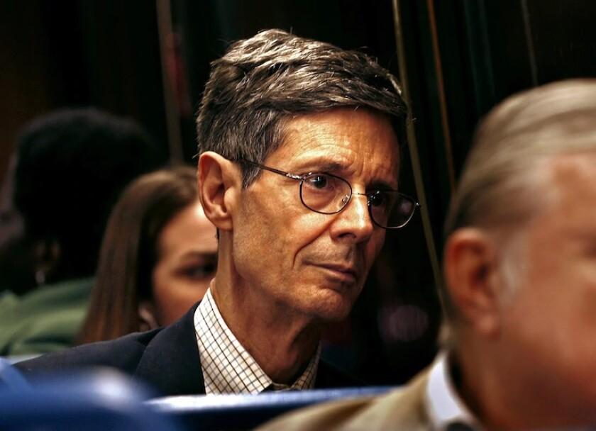 Times reporter Joel Havemann in 2006.