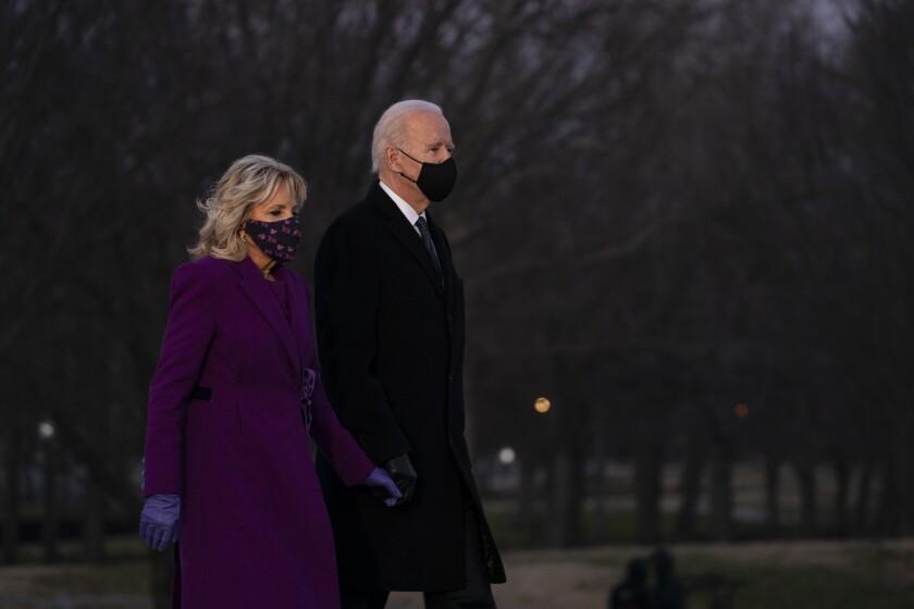 President-elect Joe Biden and his wife Jill Biden.
