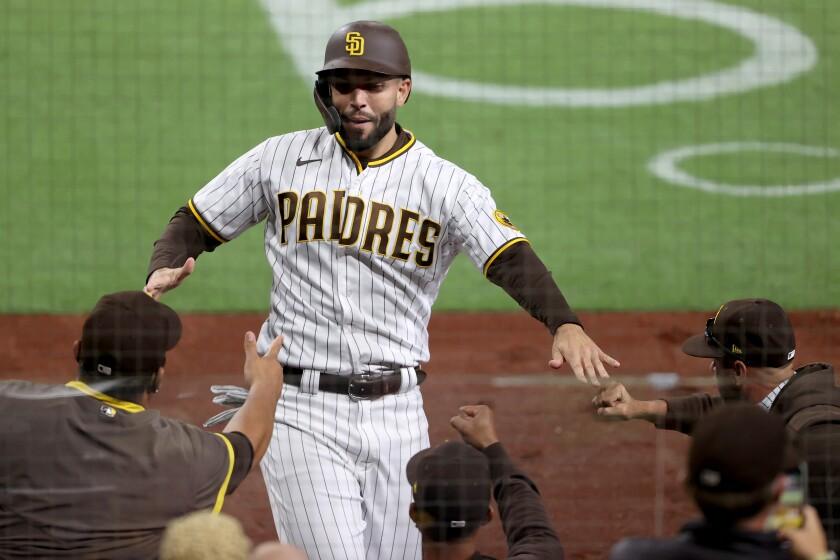 The Padres' Eric Hosmer