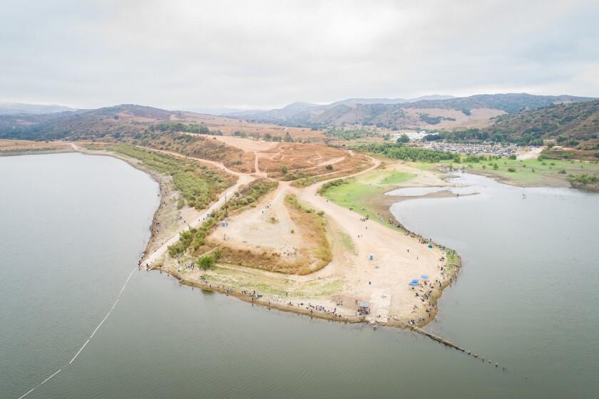 Irvine Lake reopening
