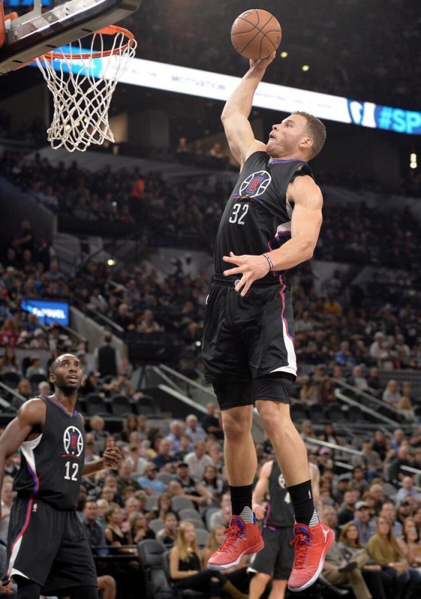 El ala-pivot de los Clippers, Blake Griffin. EFE/Archivo