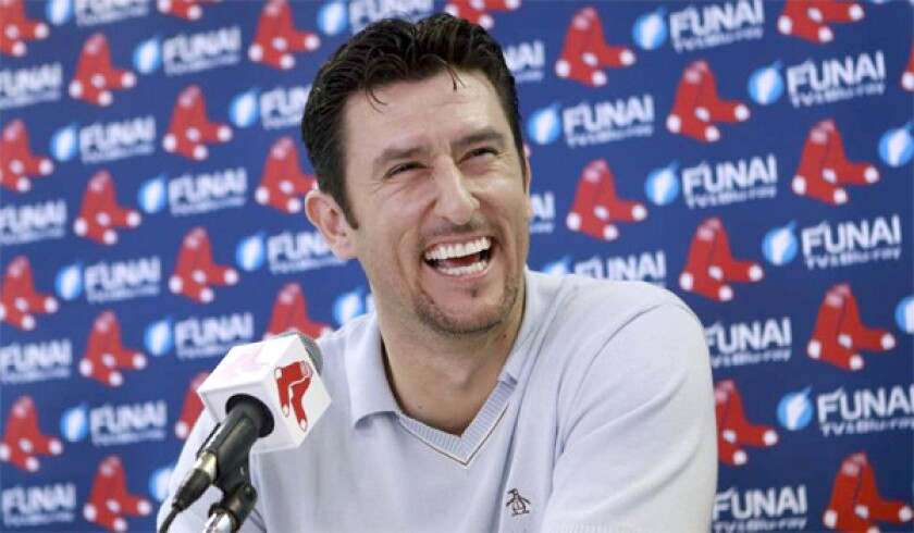 Nomar Garciaparra, who attended Bellflower-St. John Bosco High School and played three seasons for the Dodgers, has been hired as a commentator for the Dodgers' new regional sports network SportsNet LA.