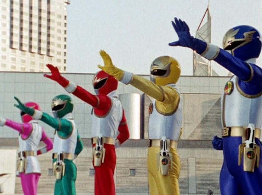 'Super Sentai: Gosei Sentai Dairanger'