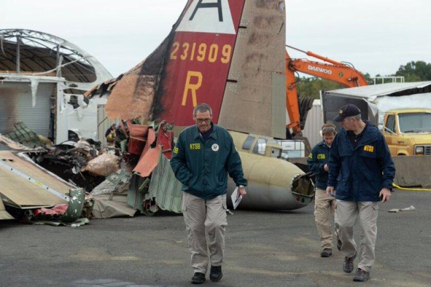 B-17 bomber crash at Bradley International Airport in Connecticut