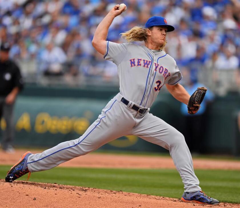 Noah Syndergaard, abridor de los Mets de Nueva York. EFE/Archivo