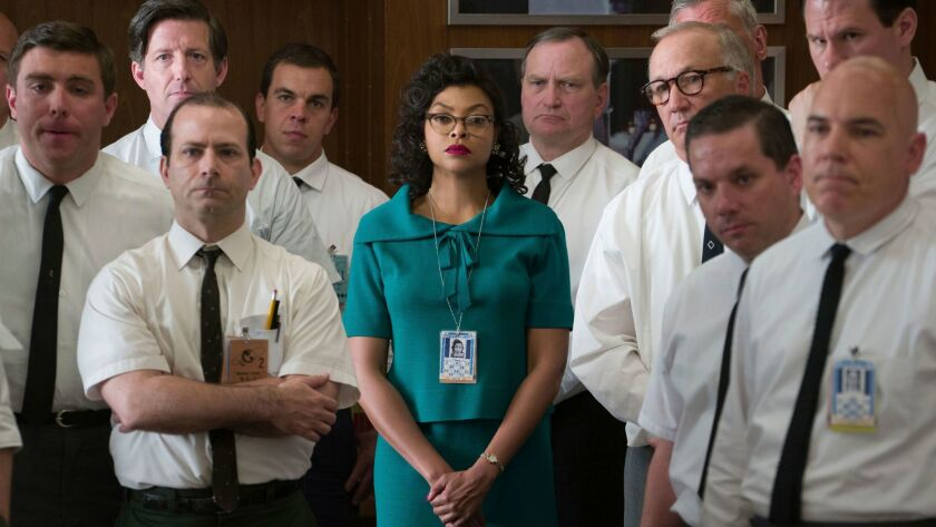 "Taraji P. Henson portrays Katherine Johnson in the film ""Hidden Figures,"" set in the 1960s."