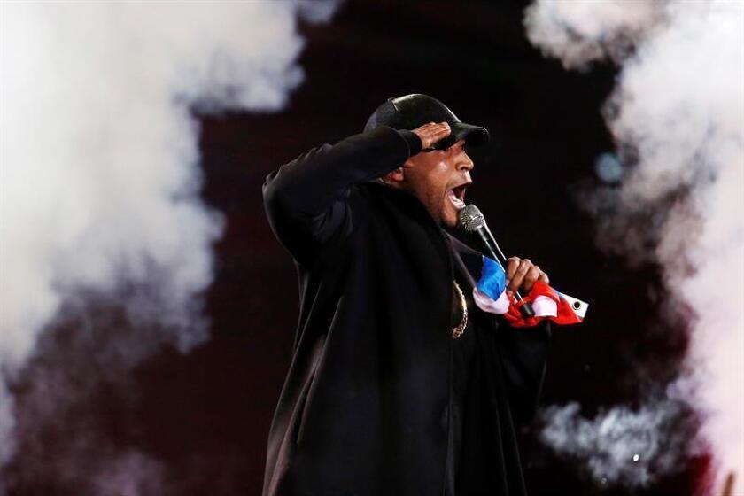 El cantante de puertorriqueño Don Omar durante una actuación. EFE/Archivo