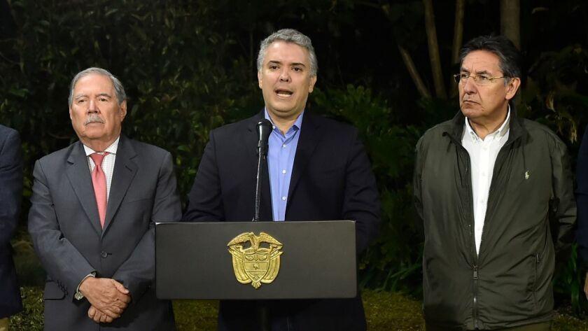 COLOMBIA-ECUADOR-DUQUE-ARIZALA