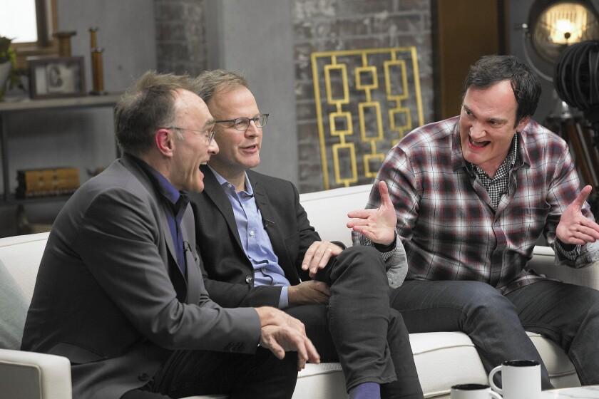 Danny Boyle, Tom McCarthy, Quentin Tarantino