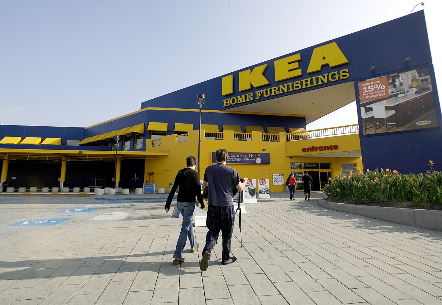 Contractors Hired For New Ikea Store Los Angeles Times